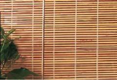 Store en bambou refendus