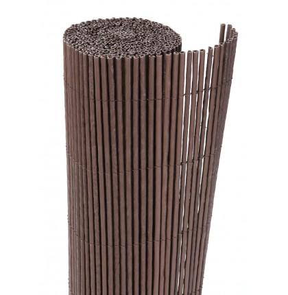 Cloture PVC imitation Osier