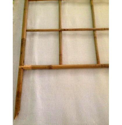 Treillis fixe bambou