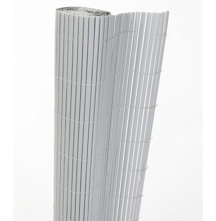 Clôture plastique double face