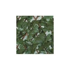 Treillis osier avec feuilles