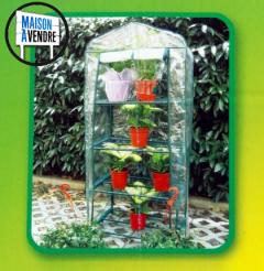 Mini serre de jardin 4 étagères
