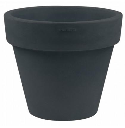 Pot anthracite en PVC 17 litres