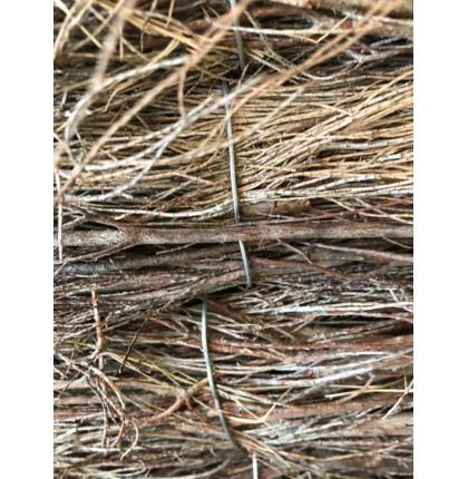 Clôture rustique en bruyère